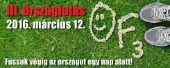 Tarhosi örömséta 3. Országfutás napján  a  Tarhos Fejlődéséért Közhasznú Egyesület  és a tarhosi általános iskola szervezésében